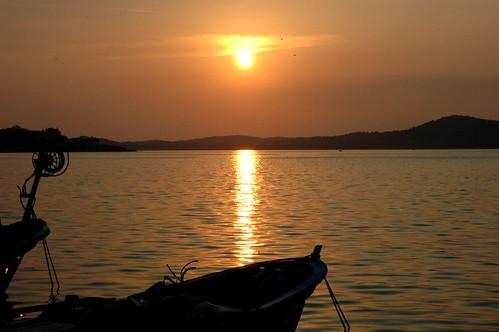 Sunset in Ayvalik