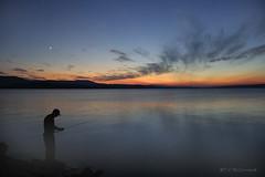 Night Fishing (6983a) (zormsk) Tags: sunset fab lake reflections fishing fisherman bass dusk arkansas soe russellville lakedardanelle zormsk mywinners diamondclassphotographer flickrdiamond ysplix awesomepictureaward tlmccormick