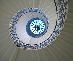 Tulip stairs (Arkfinder) Tags: england house london architecture stairs spiral jones interior greenwich queen staircase tulip scala londra architettura interno spirale inigo elica excellentphotographerawards