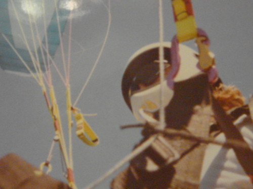 Voando de Parapente em Caiobá