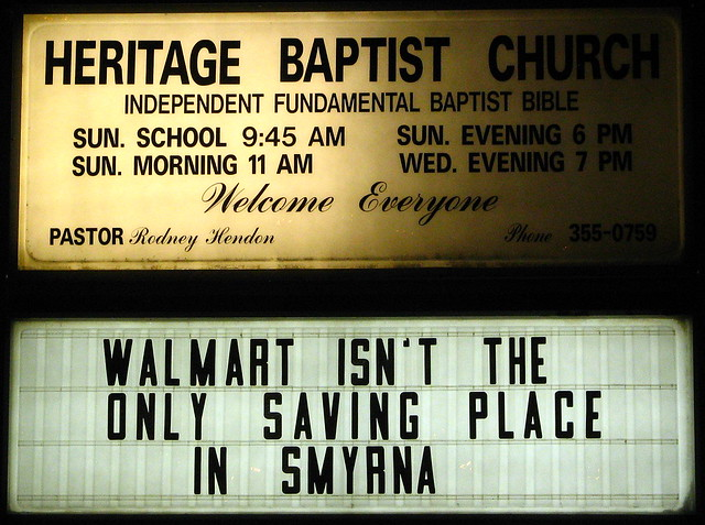 Walmart isn't the only saving place in Smyrna.