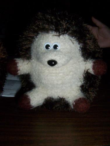 Huggable Hedgehog Knitting Pattern : Civil Bitch: FO - Hedgehog #1 & #2
