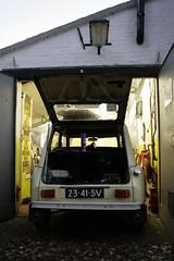 Het Eendeëi (Jesper2cv) Tags: garage citroën 2cv dyane eendeëi 2341sv sidecode2