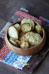 Parmesan potato coins 2