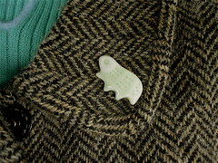 water bear pin badge