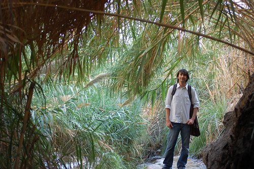 Mike in the Ein Gedi