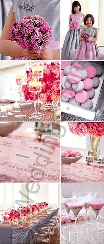 2153124407 9415293672 d Baú de idéias: Decoração de casamento rosa I