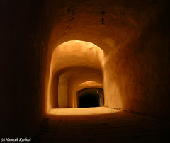 Persian Architecture : Light source 1 (Hamzeh Karbasi) Tags: lighting light shadow architecture dark persian darkness desert illumination mosque iranian  source oldcity  lightsource nain     hamzeh godslight isfahanprovince fivestars