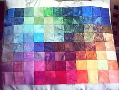Batik Farbenspiele