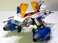 B.L.I.G.H.T. fighter (M.R. Yoder) Tags: toy fighter ship lego space hobby plastic pirate moc