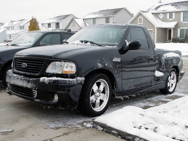 auto snow weather truck 1999fordf150