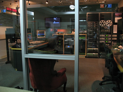 Studio at NPR West