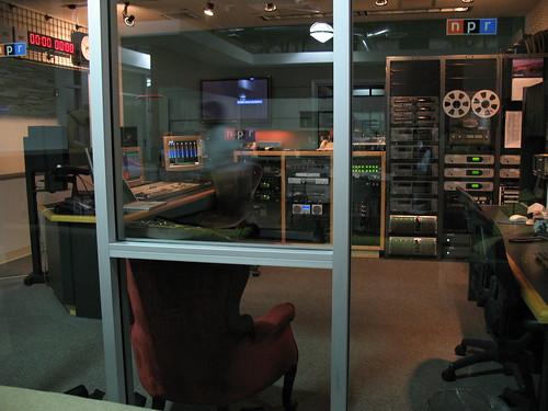 Studio at NPR West