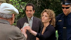 Adrian Monk, Sharona Fleming and Fraidy Cop