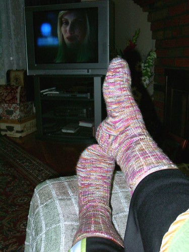 February TV socks