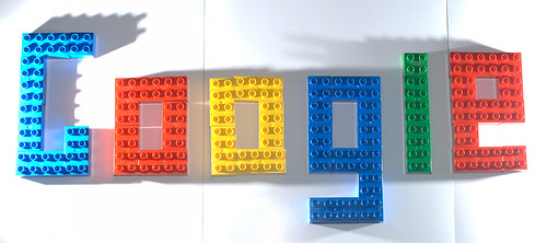 Lego Google by Giles Douglas, on Flickr