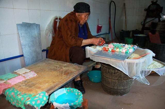 2008.03.08 建水 / 手工豆腐