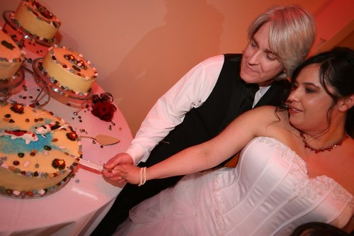 Matt&Tanya Cake Cutting