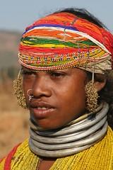 india - orissa (Retlaw Snellac Photography) Tags: travel people india tourism canon photo tribe orissa bonda odisha