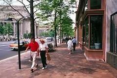 walkable downtown Washington, DC, by Dan Burden