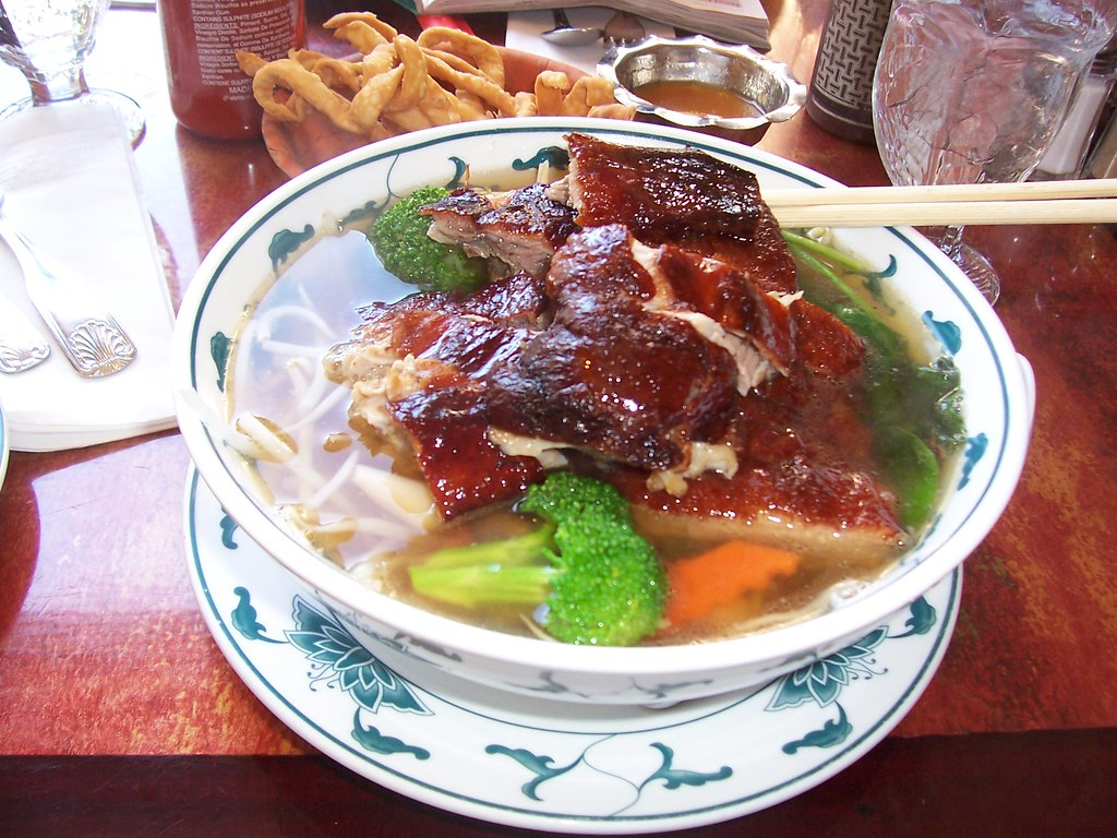 duck noodle soup in nyc