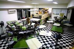 プリント工場
