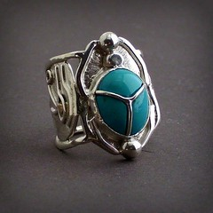 ring of Se-Osiris 2 (leespicedragon) Tags: blue original hot sexy art beautiful stone silver one artist hand god handmade turquoise oneofakind ooak magic egypt grand smith jewelry ring kind made fantasy lee sterling lovely spiritual magical marvin myth forged lapidary billings scrabe lapadairy marvinleebillings eyrofhorus