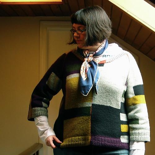 Colour-Block Sweater