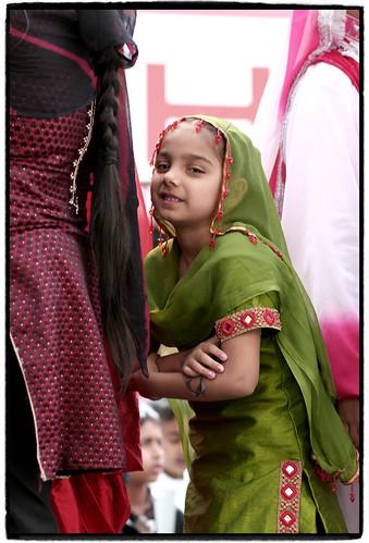 Young Giddha Dancer