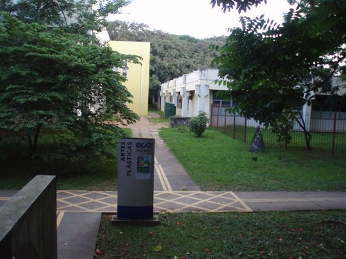 USP - looking from entrance to sculpture dep.