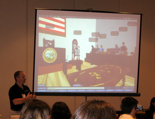 GLS 2008 - Kevin Jarrett Presents His Work With Students in Second Life