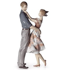 Lladro HAPPY ENCOUNTER (Lladro from Spain Montinas) Tags: lladro happy encounter saintvalentinesday love porcelain