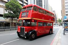 AEC RT 3708 - SYDNEY BUS MUSEUM [3] (FlashFlyGuy) Tags: sydneybusmuseum londonbus queenvictoriabuilding sydney nsw newsouthwales australia