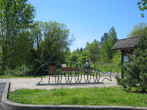 Entrance to the Fanno Creek Trail