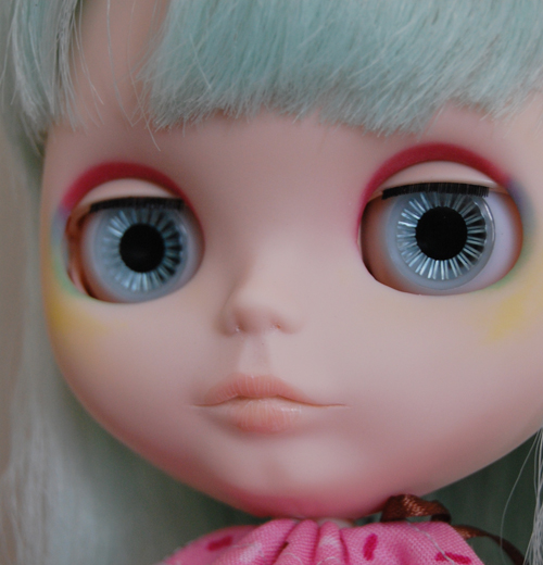 Jelly's face up