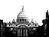 non praevalebunt (Luca Marcotullio) Tags: rome roma tramonto chiesa cupola sanpietro pietro cupolone conciliazione