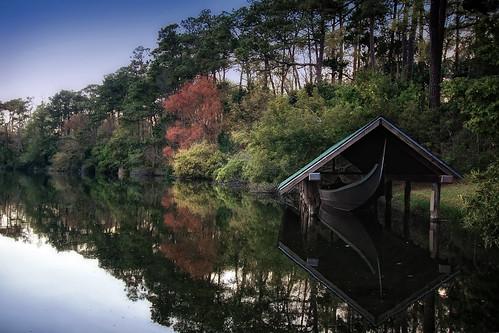 Gondola on Long Lake (color)