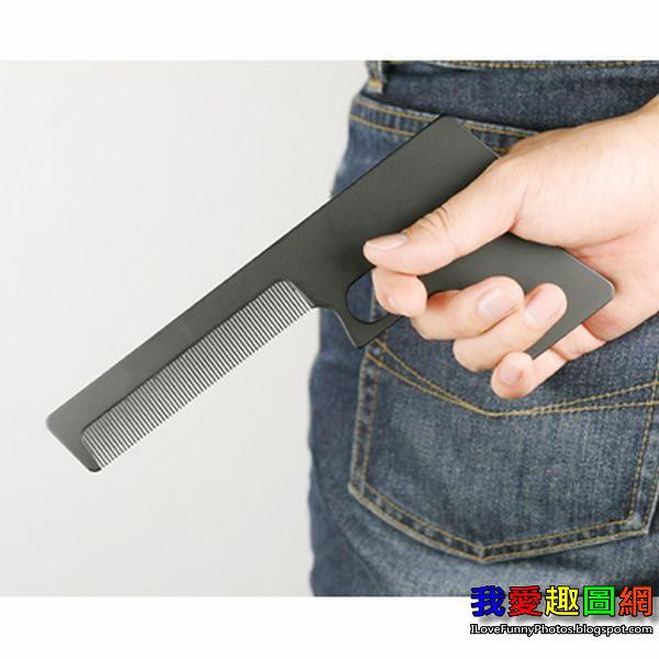 這把梳子有點是暴力 Comb