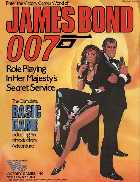 James Bond Basic Game