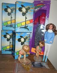 All the stuff I got at the doll show and sale ;) (sailorb1959) Tags: show california doll dolls barbie brooke shit shows clovis shields bratz glitters