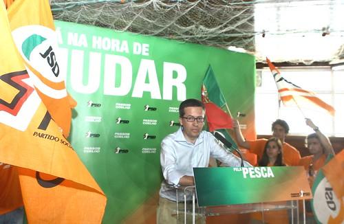 Pedro Passos Coelho almoço Pela Pesca em Vila Nova de Milfontes