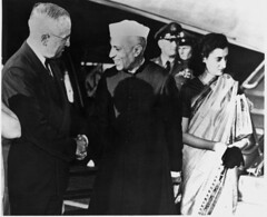Nehru's three visits to the United States of America