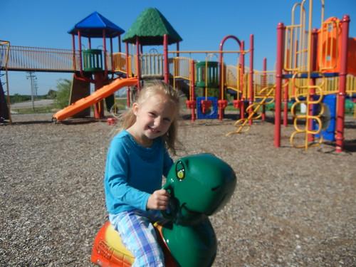 May 17 2011 Haley at park