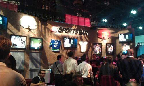 2K Sports Bar E3 2011