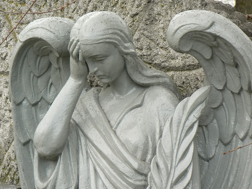 Arte en el cementerio
