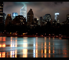 River of Mercury (Rick Elkins) Tags: newyorkcity newyork night reflections lights bravo searchthebest manhattan eastriver soe themoulinrouge citicorpbuilding magicdonkey flickrsbest mywinners abigfave superaplus aplusphoto superbmasterpiece infinestyle goldenphotographer diamondclassphotographer thegoldenmermaid rickelkins