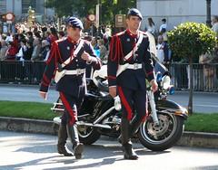 Guardia Real - Escolta Motorizada (Oscar in the middle) Tags: espaa real soldier army spain parade desfile spanish soldado guardia espaol ejercito motorista hispanidad motorizada