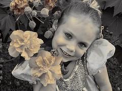 urs103107p2 (alison_calista) Tags: tree halloween sepia princess makeup ursula 2007 4yrs 4yrsold