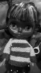 Minty (Regenboog --Dollymix!) Tags: blythe minty paulette beata smila customblythe spwtnikgirl