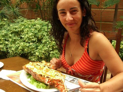Lobster eater